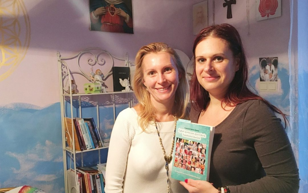Megható olvasói visszajelzések az Égből pottyant gyerekek Tanítómesterek című könyvről